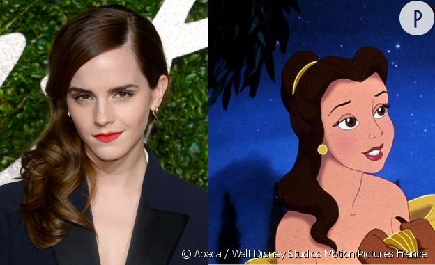 """Emma Watson sera Belle dans """"La Belle et la Bête""""."""