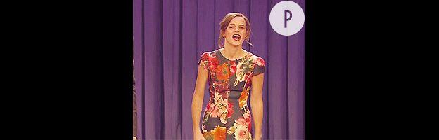 Emma Watson au talk show de Jimmy Fallon