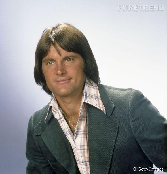 Bruce Jenner dans les années 70, à l'époque de ses exploits sportifs !