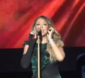 Mariah Carey : nouveau craquage sur scène, la diva rate son playback (vidéo)