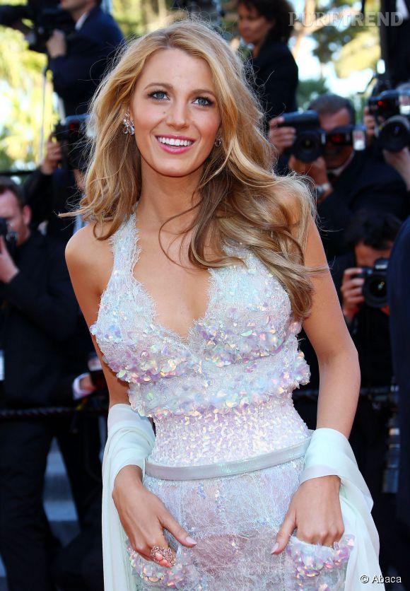 L'actrice pendant le Festival de Cannes 2014.
