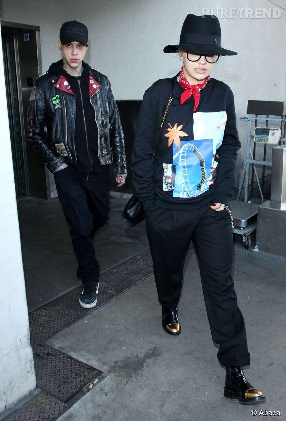 Rita Ora et son ex-petit ami Ricky Hilfiger le 4 février 2015.