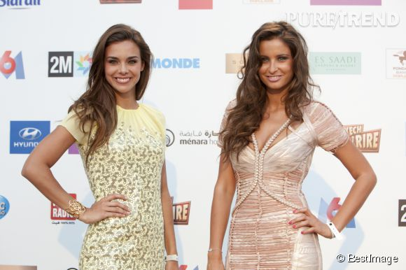 Malika Ménard et Marine Lorphelin, deux anciennes Miss France qui entendent bien rester des bombes !