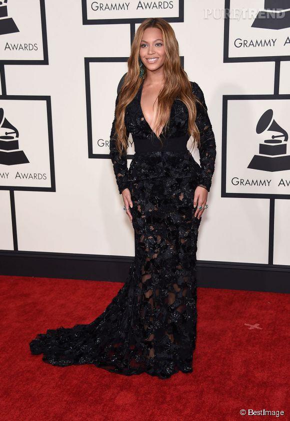 Beyoncé, belle à tomber en Proenza Schouler aux Grammy Awards 2015.