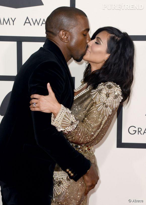 Kim Kardashian et Kanye West n'ont pas lésiné sur les preuves d'amour.