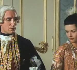 "Catherine Zeta-Jones et Paul McGann dans ""Catherine the Great""."