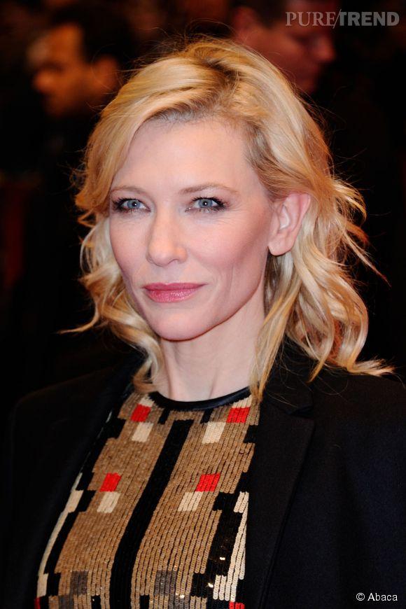 Cate Blanchett est arrivée avec ses chaussures. Oui mais ca, c'était en début de soirée.