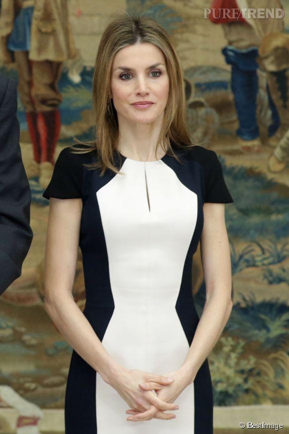 Letizia d'Espagne ne choisit pas la bonne robe et semble encore plus mince !