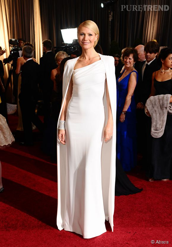 Gwyneth Paltrow en Tom Ford lors des Oscars 2012.