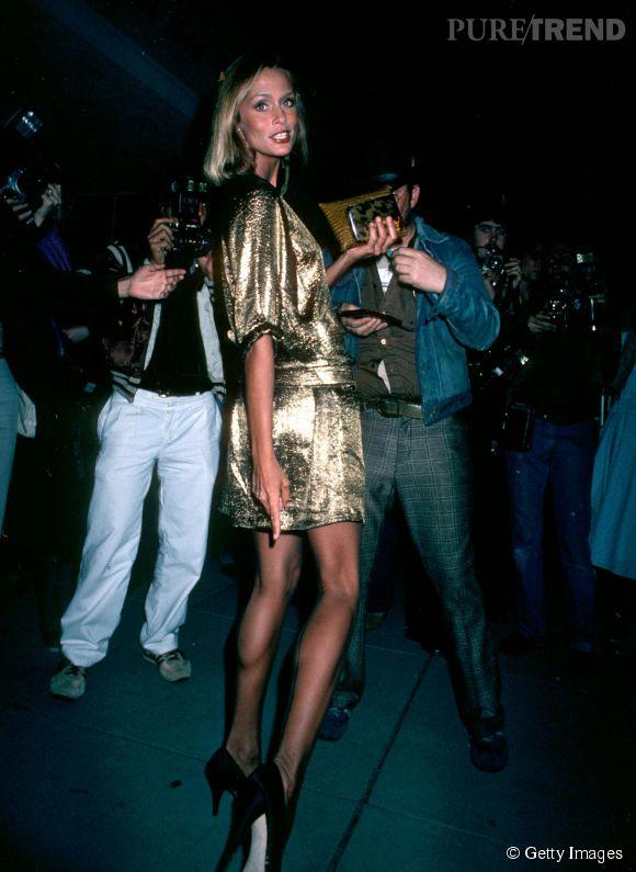 Lauren Hutton lors des Oscars 1980.