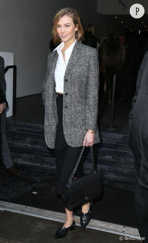 Karlie Kloss : son look de dame chic à copier.
