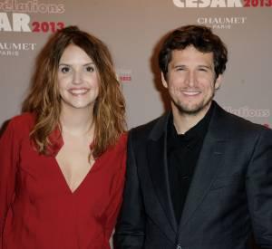 Laurence Arné et son parrain des César 2013, Guillaume Canet.