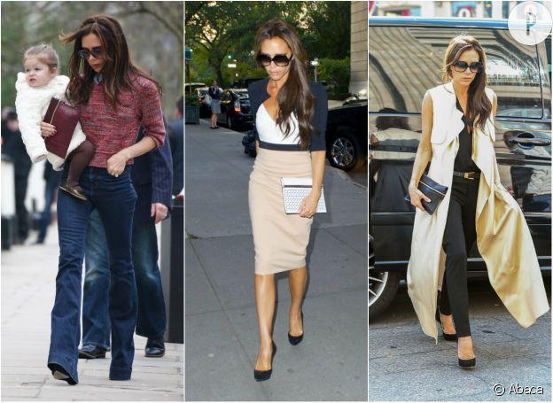 Victoria Beckham et ses pochettes