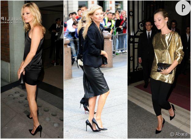 Kate Moss et ses escarpins noirs