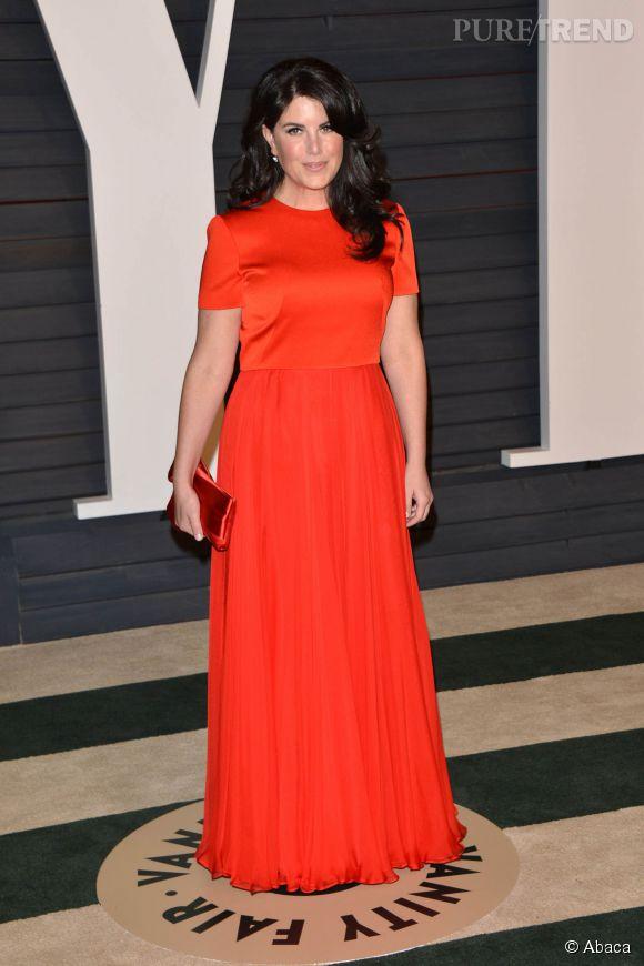 Monica Lewinsky lors de la soirée post Oscars organisée par  Vanity Fair  le 22 février 2015 à Los Angeles.