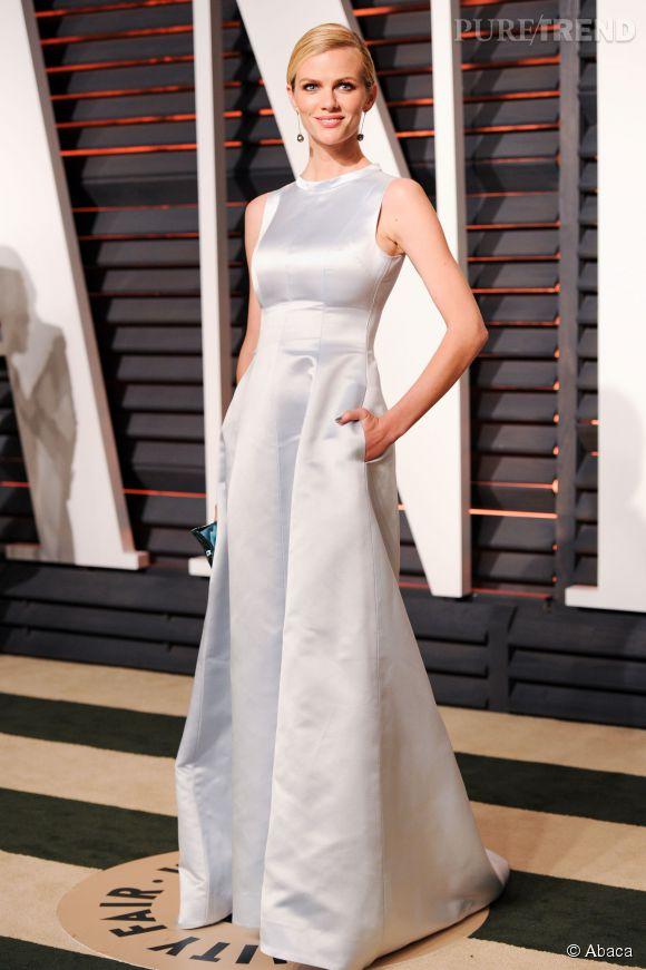 Brooklyn Decker en Katie Ermilio lors de la soirée post Oscars organisée par  Vanity Fair  le 22 février 2015 à Los Angeles.
