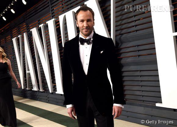 Tom Ford lors de la soirée post Oscars organisée par  Vanity Fair  le 22 février 2015 à Los Angeles.