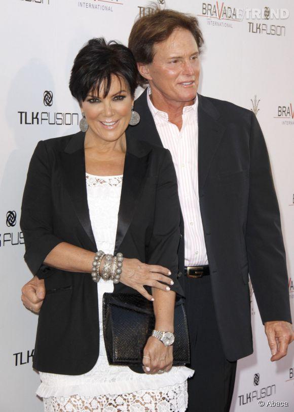 Kris Jenner et son ex-mari Bruce Jenner.