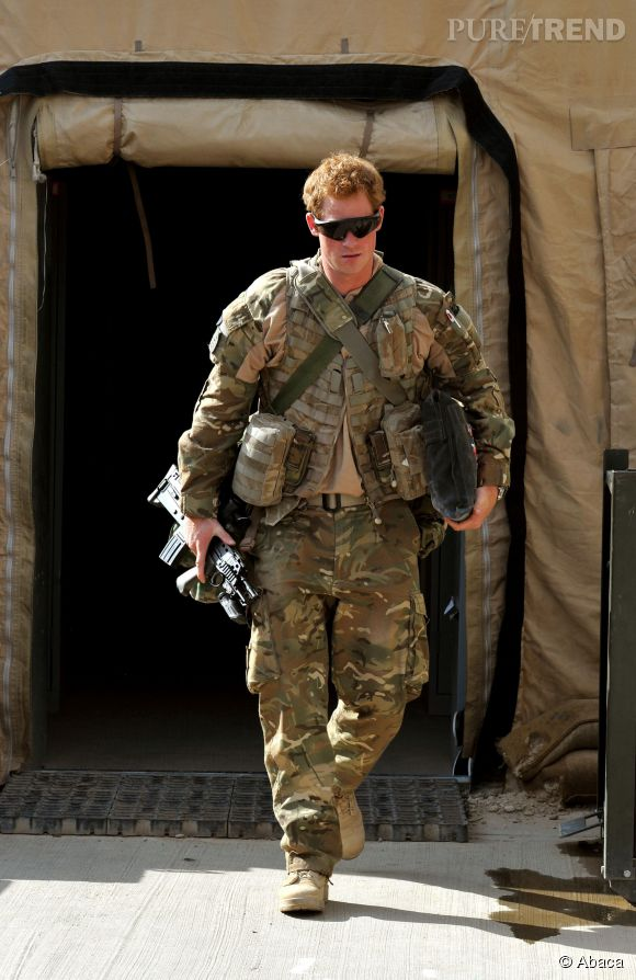"En 2012, le ""capitaine de Galles"" sert en Afghanistan."