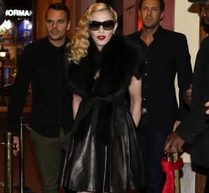 Madonna : une étreinte avec Luz et un look d'adolescente en rébellion