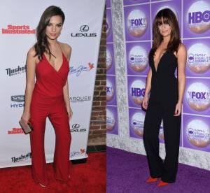 Emily Ratajkowski vs Lea Michele : la combinaison décolletée jusqu'au nombril