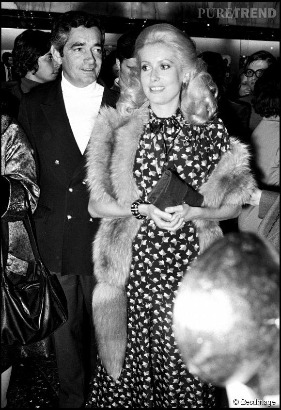 """Catherine Deneuve et Jacques Demy. En la faisant tourner dans """"Les Parapluies de Cherbourg"""" en 1963, le réalisateur offre un tournant dans la carrière de l'actrice."""