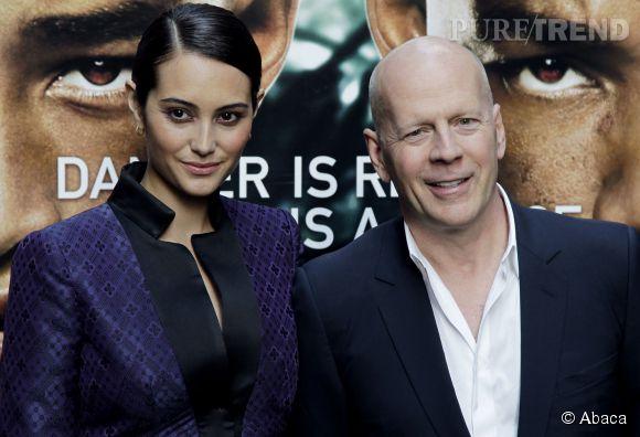L'acteur Bruce Willis, ici avec sa femme Emma Heming, sera également au casting du prochain film de Woody Allen.