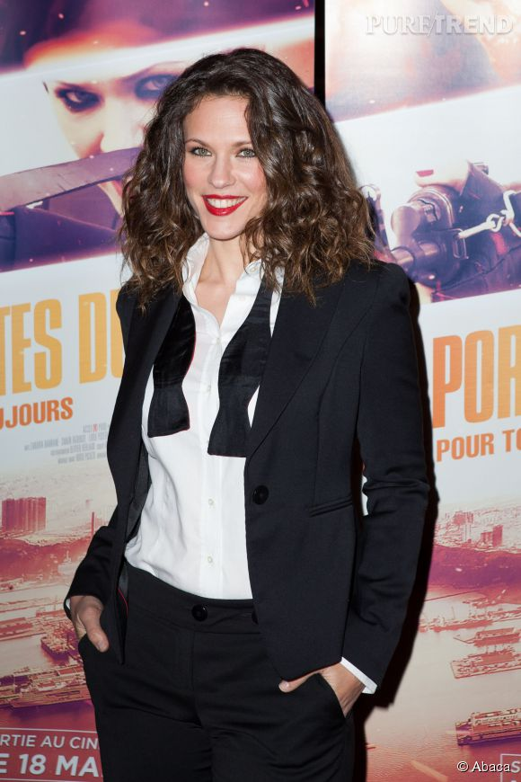 """Lorie Pester a rencontré Mike Tyson sur le tournage des """"Portes du soleil - Algérie pour toujours""""."""