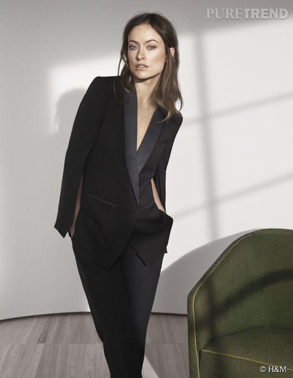 Olivia Wilde pose pour la dernière collection H&M Conscious Exclusive.