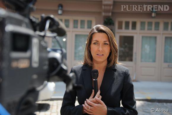 Anne-Claire Coudray est une journaliste formée au terrain.