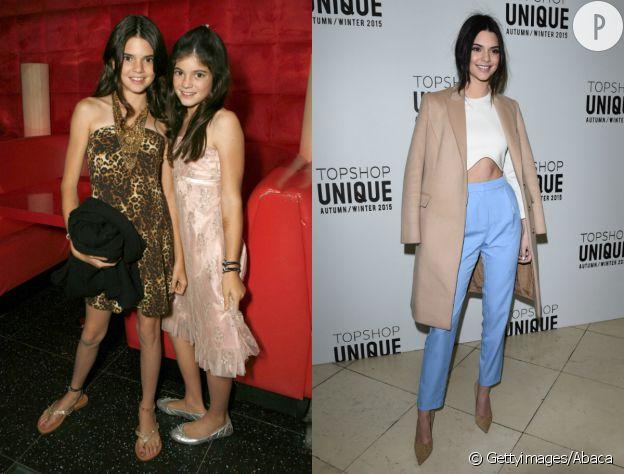 Les Kardashian avant/après.
