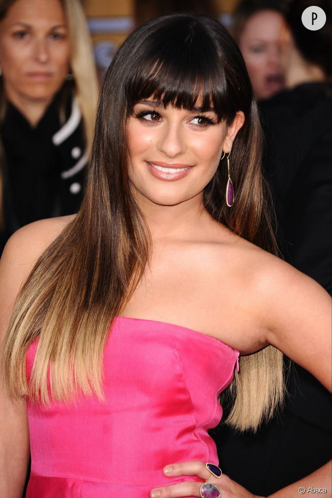 comme lea michele les cheveux bruns peuvent eux aussi succomber au tie and dye blond. Black Bedroom Furniture Sets. Home Design Ideas