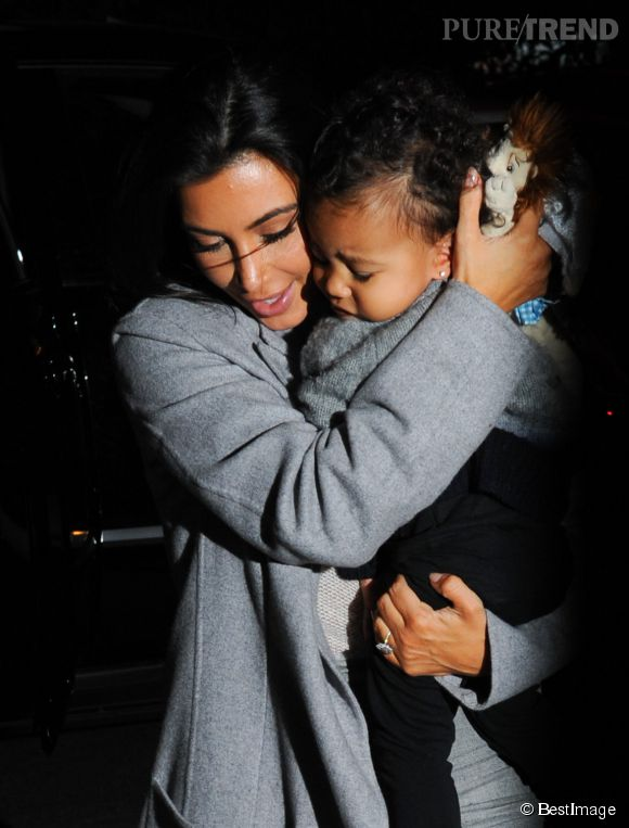 North West, une vraie baby star.