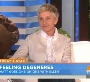 """Ellen DeGeneres sur le plateau de """"Today Show""""."""