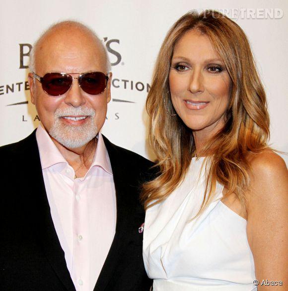 Céline Dion et son mari René Angélil.