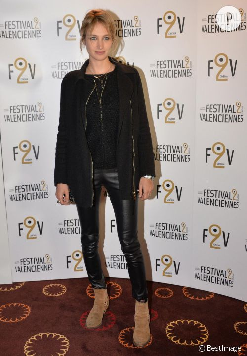 Pauline Lefèvre à la soirée d'ouverture du 5e Festival 2 Cinéma de Valenciennes le 25 mars 2015.