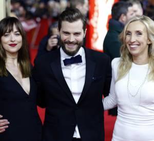 """Si Sam Taylor-Johnson quitte """"50 Nuances de Grey"""", elle explique avoir """"établi une relation étroite et durable avec les acteurs"""", Jamie Dornan et Dakota Johnson."""