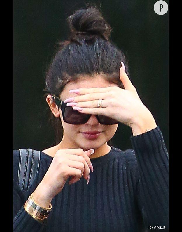 Kylie Jenner serait déjà fiancée au rappeur Tyga...