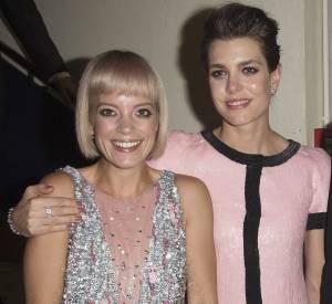 Lily Allen et Charlotte Casiraghi au Bal de la rose 2015. Elles portaient toutes les deux du Chanel.