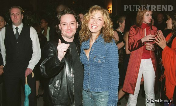 Lara Fabian et son ex-petit ami, Rick Allison, en 2001.