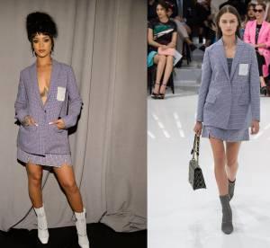 Rihanna vs Podium : le tailleur Dior Printemps-Été 2015