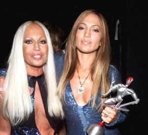 Donatella Versace et Jennifer Lopez, une histoire qui dure.