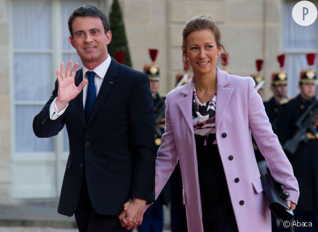 Manuel Valls et Anne Gravoin se sont mariés en 2010.