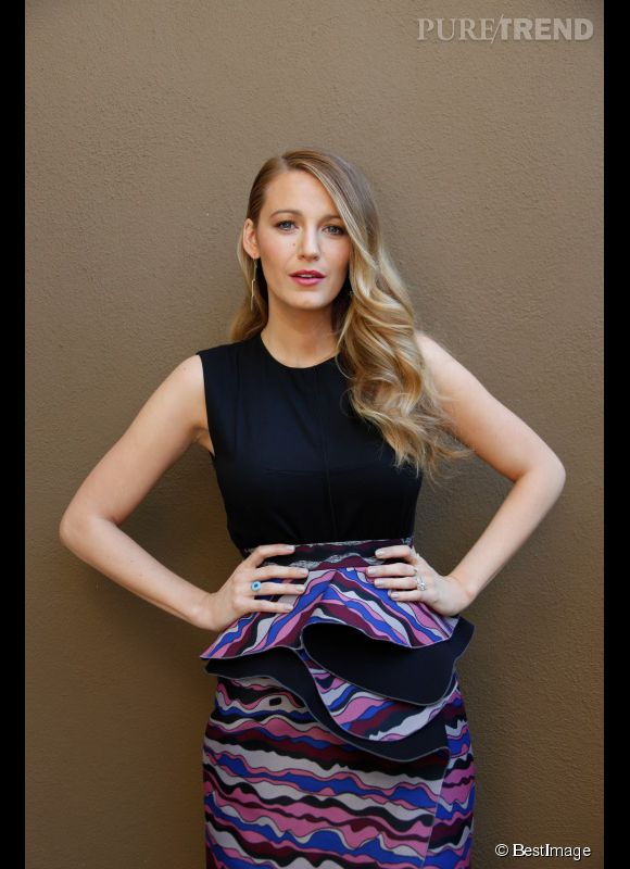 "Blake Lively assure la promo de ""The Age of Adaline"" à Beverly Hills le 12 avril 2015."