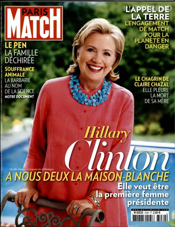 le magazine paris match de cette semaine revient sur les relations qu 39 entretenaient claire. Black Bedroom Furniture Sets. Home Design Ideas