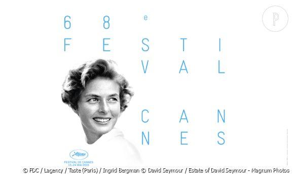 L'affiche du 68ème Festival de Cannes.
