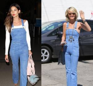 Lily Aldridge vs Laeticia Hallyday : la salopette 70's sexy de Stella McCartney