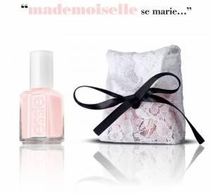 Le vernis de la mariée par Delphine Manivet pour Essie.