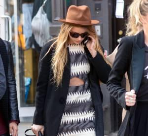 Amber Heard : la robe découpée sexy version casual... À shopper !