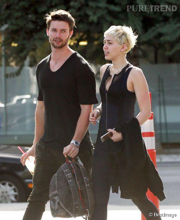 Patrick Schwarzenegger et Miley Cyrus c'est fini.
